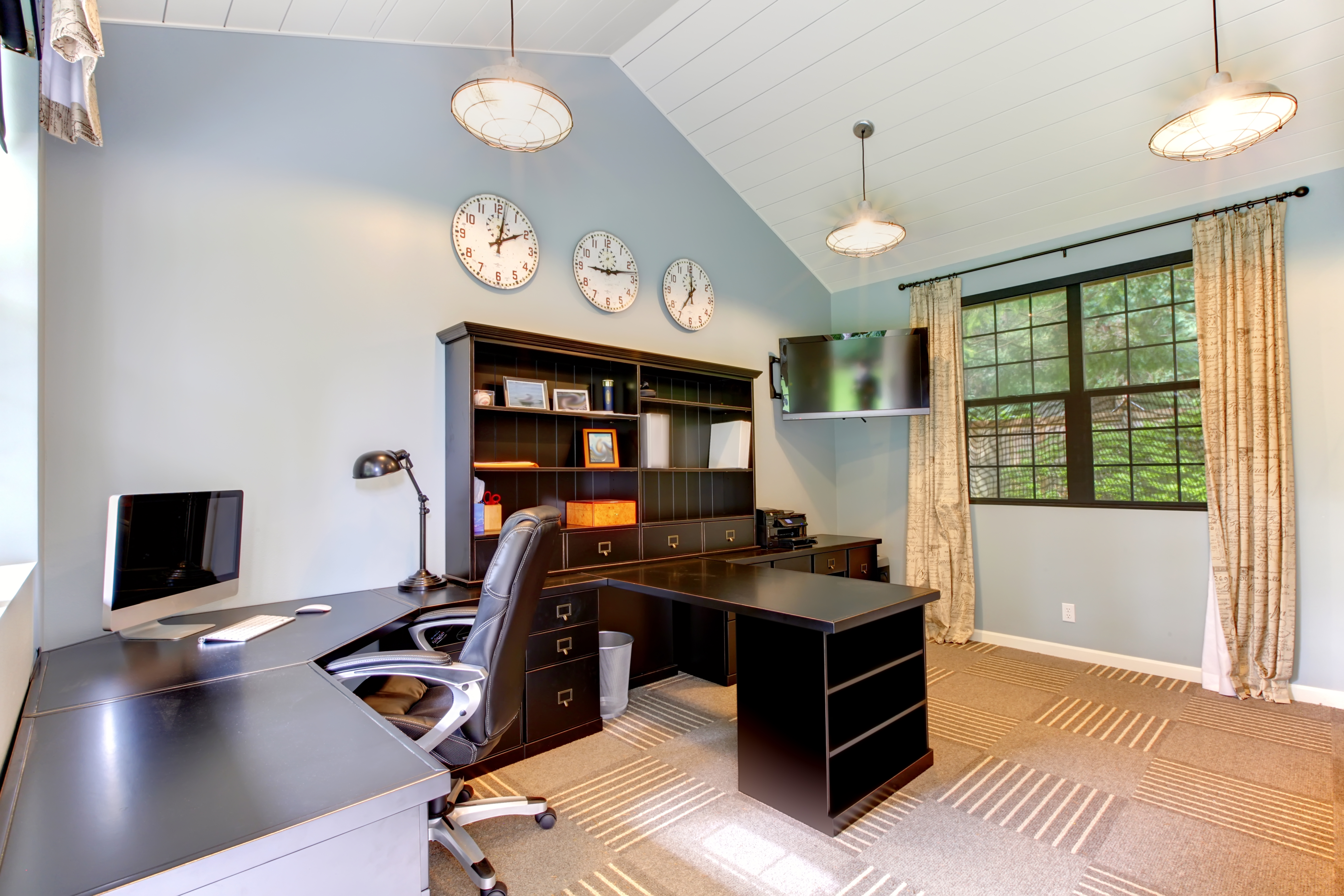 Make Your Home Office Personal And Productive Gerber Moving And